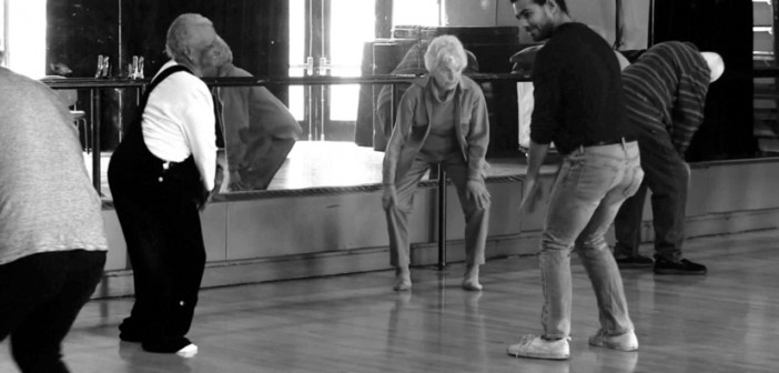 """Dancing for the Aging Population"" workshop. (Credit: Isabel Chin '17)"