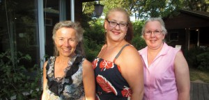 From left, Marlene Cutitar, Karen Vaniver, and Jean Marie Daley, in 2015.