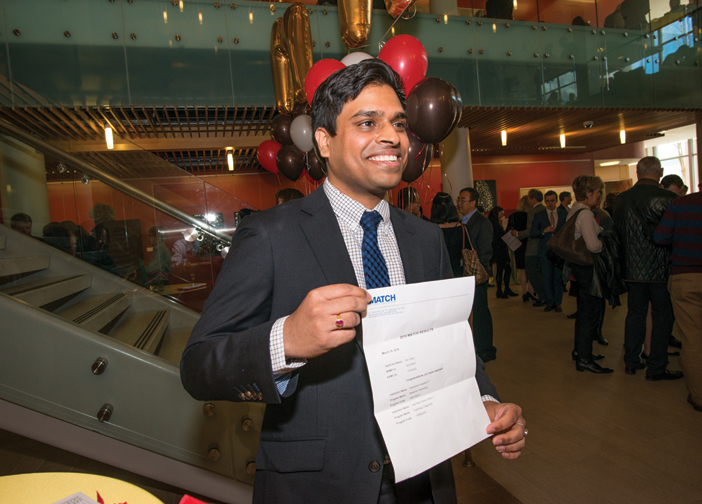 Proof: Atin Saha MD'16 is headed to Yale for radiology.