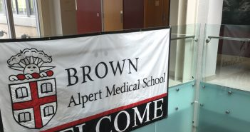 For first-year students at Alpert Medical School , the academic year begins in August.