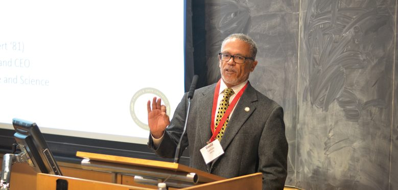 "COOKE LECTURE : David M. Carlisle, PhD MD'81, president and CEO of Charles R. Drew University of Medicine and Science, presented the Commencement Forum ""Health Care 5.0."""