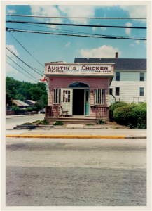 Namesake: Tam's parents owned two family-style chicken restaurants in Bellingham, MA; they named this one after him.