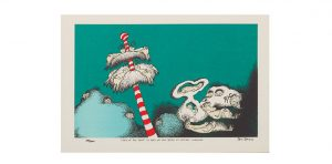 """The art of sleep: This print from Dr. Seuss's Sleep Book hangs in Sharkey's bedroom. """"I know I'm not the only sleep doc who has this picture,"""" she says."""
