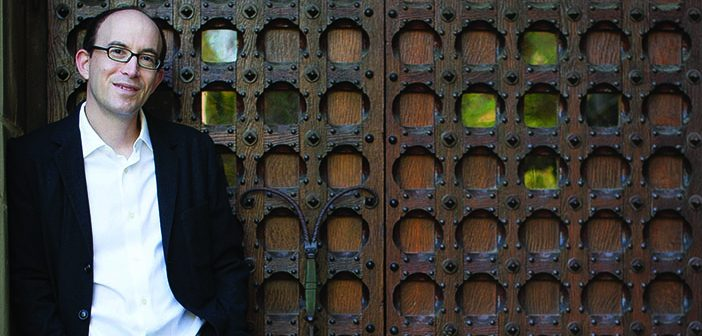 """Chad Brecher '94 MD'98, author of """"The Lost Book of Wonders."""" Photo by Rachel McGinn"""