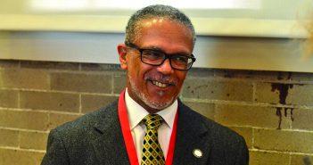 David M. Carlisle, PhD MD'81 is the president of Charles R. Drew University of Medicine and Science. Photo by Caroline Gollub
