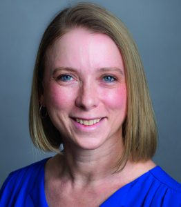 Amity Rubeor, DO RES'05, the first physician in Rhode Island to receive certification in performance medicine.
