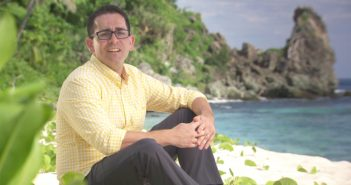 After a shakeup on Survivor, alum Mike Zahalsky is now a member of the Yawa tribe. Photo courtesy CBS