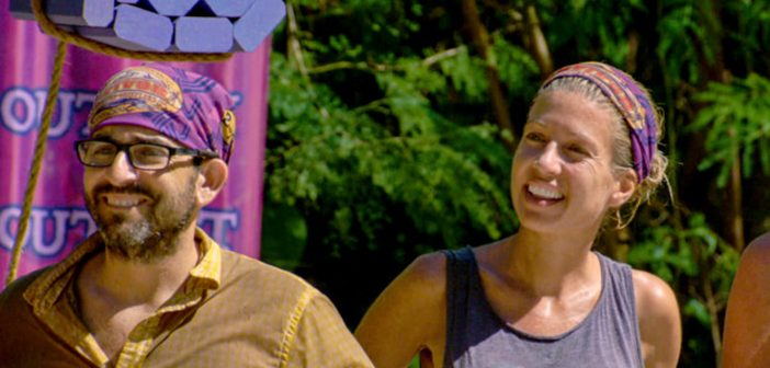 Alum Mike Zahalsky was blindsided by Chrissy in episode 11's tribal council. Photo courtesy CBS