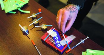 CHEAP AND EASY: Fentanyl test strips could help users avoid overdose. Photo by Jesse Costa