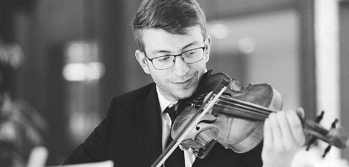 Chris Demas MD'21 started playing the violin in fourth grade.