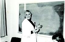 Professor Emeritus of Pediatrics Mary Arnold, MD. Photography: Warren Alpert Medical School Archives