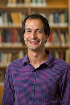 Nassar is an assistant professor of neuroscience. Photo by Nick Dentamaro